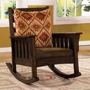 Benzara BM131912 Morrisville Traditional Accent Chair, Dark Oak