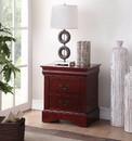 Benzara BM154518 Traditional 2 Drawers wood Nightstand, Brown