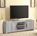Benzara BM156172 Marvelous driftwood tv console, Gray