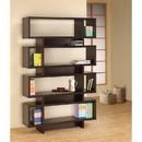 Benzara BM156243 Stupendous Wooden Bookcase With Open Shelves, Brown