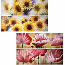 Benzara BM165135 Oil Painting Flower 4 Styles