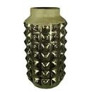Benzara BM167387 Ceramic Vase, Gold