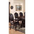 Benzara BM171223 Rubber Wood Royal Arm Chair Set Of 2 Brown