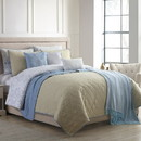 Benzara BM202792 Andria 10 Piece Queen Size Comforter and Coverlet Set The Urban Port, Multicolor