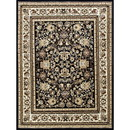 Benjara BM207799 84 X 60 Inches Power Loom Polyester Rug with Tribal Print, Multicolor