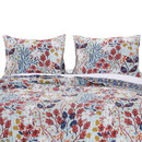 Benjara BM218898 20 X 36 Floral Printed Sham with Cotton and Polyester Fill, Multicolor