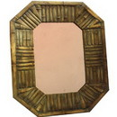 Benzara ETD-EN112162 Customary Wood Garden Mirror