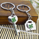 Aspire Lover Couple Clover Keychain Keyring, Price/One Pair, Wholesale Keychains
