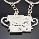 Aspire Valentine Gift Cool Keychains Keyring, Price/One Pair, Wholesale Keychain