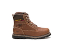 Cat Footwear P74137 Men's Idaho Waterproof Work Boot, Walnut