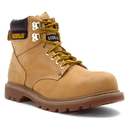 Cat Footwear P89162 Men's Honey Nubuck Second Shift Steel Toe Work Boot