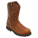 Cat Footwear P89882 Men's Brown Edgework Pull On Waterproof Steel Toe Work Boot