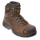 Cat Footwear P89940 Men's Dark Beige Diagnostic Hi Waterproof Steel Toe Work Boot