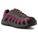 Cat Footwear P90299 Charcoal/Pink Switch Steel Toe Work Shoe