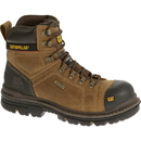 "Cat Footwear P90449 Dark Beige Hauler 6"" Waterproof Composite Toe Work Boot"
