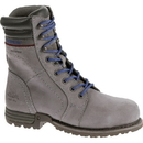 Cat Footwear P90565 Women's Frost Grey Echo Waterproof Steel Toe Work Boot