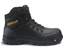 Cat Footwear P90976 Men's Resorption Waterproof Composite Toe Work Boot, Black