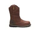 Cat Footwear P90978 Men's Edgework 2.0 Steel Toe Waterproof Work Boot, Oak