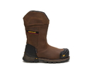 Cat Footwear P90999 Men's Excavator XL Pull On Waterproof Composite Toe Work Boot, Dark Brown