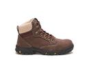 Cat Footwear P91007 Women's Tess Steel Toe Work Boot, Chocolate