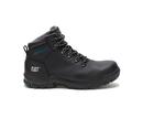 Cat Footwear P91022 Women's Mae Steel Toe Waterproof Work Boot, Black