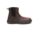 Cat Footwear P91026 Men's Wheelbase Steel Toe Work Boot, Clay