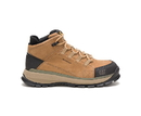 Cat Footwear P91056 Men's Utilize Waterproof Alloy Toe Work Boot, Sand