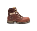 "Cat Footwear P91097 Women's Paisley 6"" Steel Toe Work Boot, Tawny"