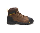 Cat Footwear P91115 Men's Wellspring Waterproof Metatarsal Guard Steel Toe Work Boot, Real Brown