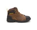 Cat Footwear P91116 Women's Wellspring Waterproof Metatarsal Guard Steel Toe Work Boot, Real Brown