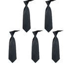 TopTie Mens Formal Tie Wholesale, Wedding Neckties Solid Color, 3.75