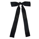 TopTie Black Satin Western String Bow Tie Wholesale, Formal Tuxedo Solid Bow Ties, 1/10/50/100 PCS