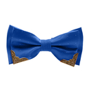 TopTie Pre-tied Adjustable Bow Ties, Two-Layer, Golden-Metal-Edged 18 colors