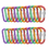 "GOGO 24 PCS Aluminum Locking D-shaped Carabiners 3"" Spring-Loaded Gate Carabiner"