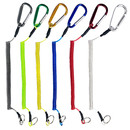 GOGO 24 Pcs Fishing Lanyards Retractable Wire Coiled Fishing Rope Tool 11