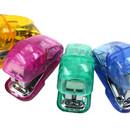 Custom Muka Promotional Mini Transparent Stapler Personalized Stapler Customized with Your Logo Office Desk