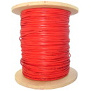 CableWholesale 10F1-111NH Bulk Zipcord Fiber Optic Cable, Multimode, Duplex, 62.5/125, Orange, Riser Rated, Spool, 1000 foot