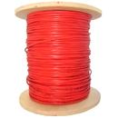CableWholesale 10F2-206NH 6 Fiber Indoor Distribution Fiber Optic Cable, Multimode, 62.5/125, Orange, Riser Rated, Spool, 1000 foot