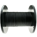 CableWholesale 10F3-202NH 2 Fiber Indoor/Outdoor Fiber Optic Cable, Multimode, 62.5/125, Black, Riser Rated, Spool, 1000 foot
