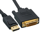 CableWholesale 10H1-61115 DisplayPort to DVI Video Cable, DisplayPort Male to DVI Male, 15 foot