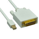 CableWholesale 10H1-62215 Mini DisplayPort to DVI Video Cable, Mini DisplayPort Male to DVI Male, 15 foot