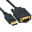 CableWholesale 10H1-65110 DisplayPort to VGA Video cable, DisplayPort Male to VGA Male, 10 foot