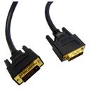 CableWholesale 10V2-05303BK DVI-D Dual Link Cable, Black, DVI-D Male, 3 meter (10 foot)