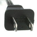 CableWholesale 10W1-13210 Notebook/Laptop Power Cord, NEMA 1-15P to C7, Non-Polarized, 10 ft