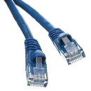 CableWholesale 10X6-06102 Cat5e Blue Ethernet Patch Cable, Snagless/Molded Boot, 2 foot