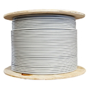 CableWholesale 10X8-521NH Bulk Shielded Cat6 Gray Ethernet Cable, Solid, Spool, 1000 foot
