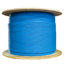 CableWholesale 13X6-061MH Bulk Cat6a Blue Ethernet Cable, Stranded, UTP (Unshielded Twisted Pair), Spool, 1000 foot