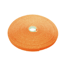 CableWholesale 30CT-03150 Hook and Loop Tape, 3/4 inch Wide, Orange, 50ft Roll