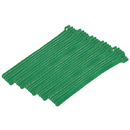 CableWholesale 30CT-05180 Green Hook and Loop Cable Strap w/ Eye, 0.50 inch x 8 inch, 25 Pack