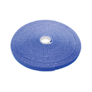 CableWholesale 30CT-06150 Hook and Loop Tape, 3/4 inch Wide, Blue, 50ft Roll